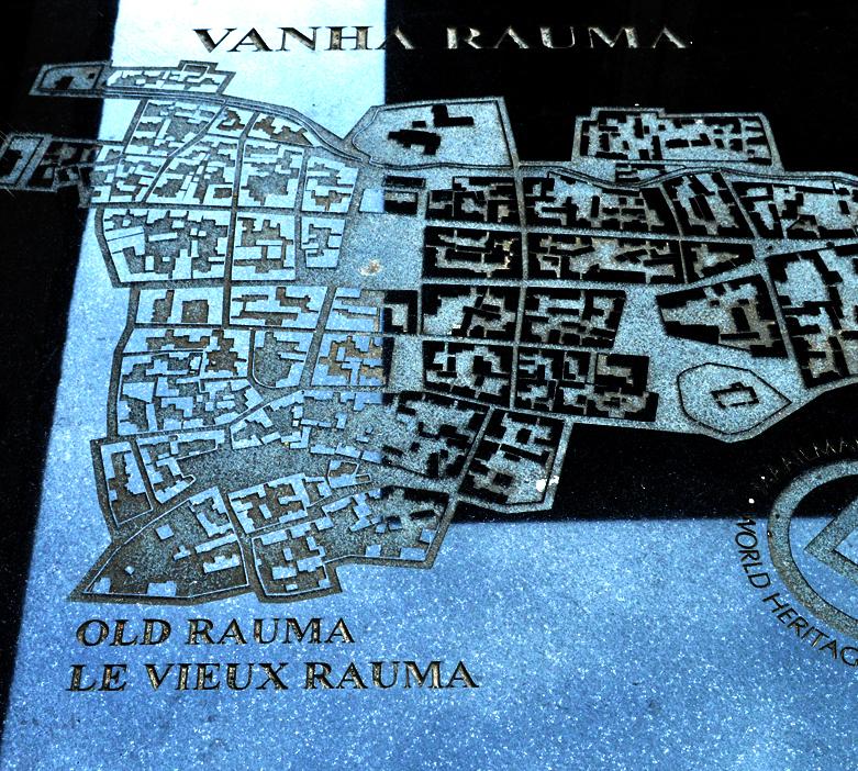 Vanhan Rauman Kartta Retkihetki